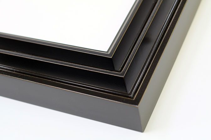 Piano Black Picture Frame